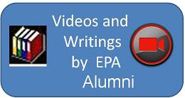Videos and Writings of Alumni